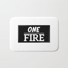 ONE FIRE Bath Mat