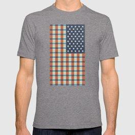 Plaid Flag. T-shirt