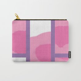 Expressive Windows of Purple Carry-All Pouch