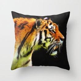 EDDIE'S TIGER Throw Pillow