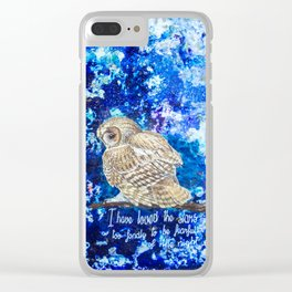the stars Clear iPhone Case