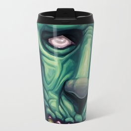 Zombie Blues Metal Travel Mug