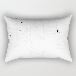 FullMetal Alchemist Characters Art Rectangular Pillow