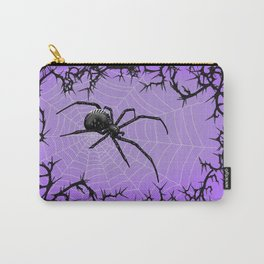 Briar Web- Purple Carry-All Pouch