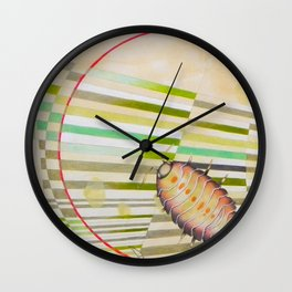 The measurement of space-  Onisco Wall Clock