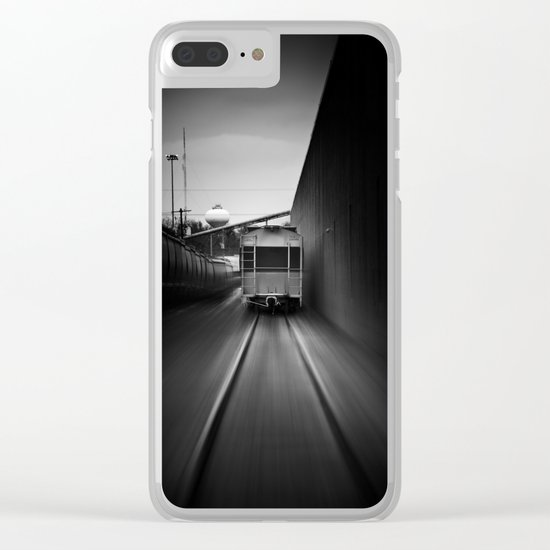the pursuit Clear iPhone Case