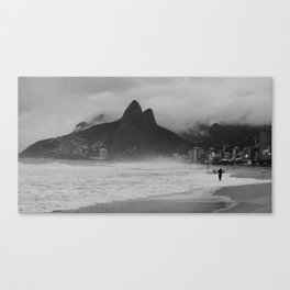 Two Brothers And A Fisherman Canvas Print
