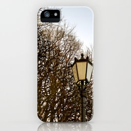 Lamppost Melodies  iPhone Case