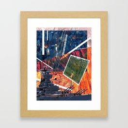 Untitled Collage I Framed Art Print