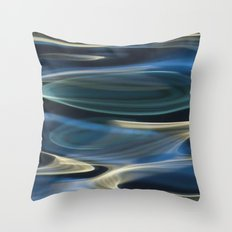 Water / H2O #2  (water abstract) Throw Pillow