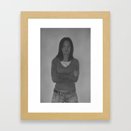 Claire Framed Art Print