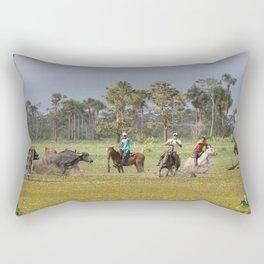 Amazon Cowboys Rectangular Pillow