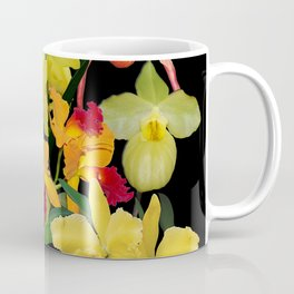 Orchids - Hot Colors! Coffee Mug