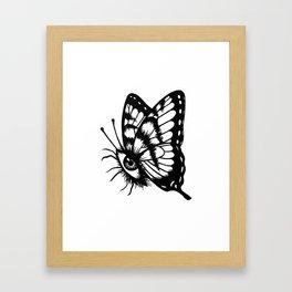 BUTTERFLEYE Framed Art Print