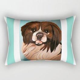 Peke Wookie Rectangular Pillow