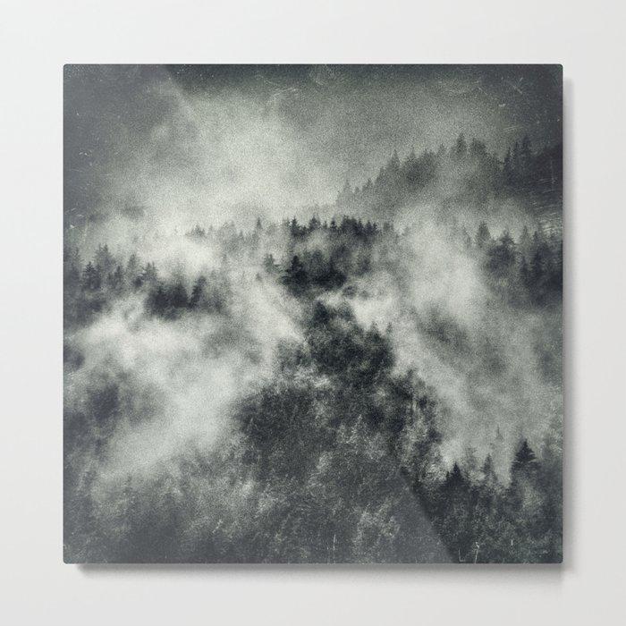 Recently // Dark Boogie Edit Metal Print