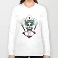 harley Long Sleeve T-shirts featuring Harley ! by Alejandro Dayer