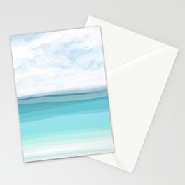 Sea View 282 Turquoise Ocean Stationery Cards