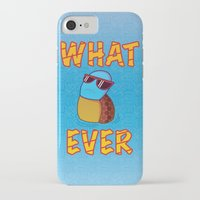 whatever iPhone & iPod Cases featuring Whatever by ohzemesmo