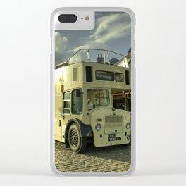 Lodekka Gold Clear iPhone Case