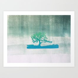 Tree or forest? Art Print
