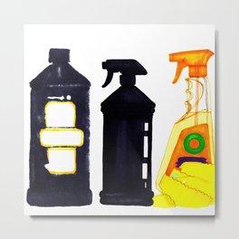 Spray n' Wash Metal Print