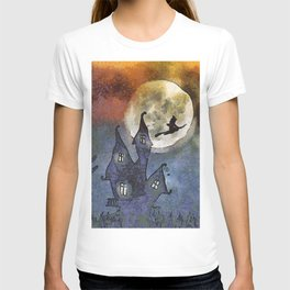 Halloween Horror Scene T-shirt
