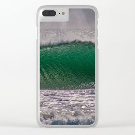 Offshore Texture Clear iPhone Case