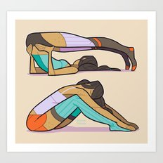 Stretch Art Print