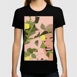 Just me and the lemon tree. T-shirt
