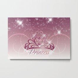 Princess Tiara Metal Print