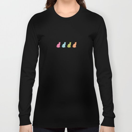 cat pattern#2 Long Sleeve T-shirt