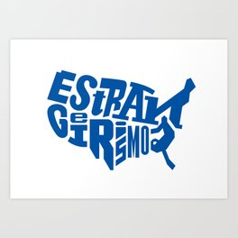 Estrangeirismos US Art Print