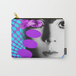 Supermodel Penelope 2 - Supermodels of the Sixties Series Carry-All Pouch