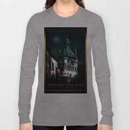 #SighisoaraClockTower Long Sleeve T-shirt