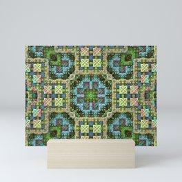 """""""Needlepoint Sampler"""" (3D Fractal) Mini Art Print"""