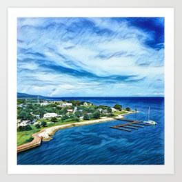 Coast Of Jamaica Art Print