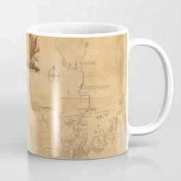 Map Of New Hampshire 1784 Coffee Mug