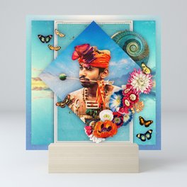 Reflection: Part I :: Fine Art Collage Mini Art Print
