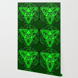Critical Roll Green Wallpaper