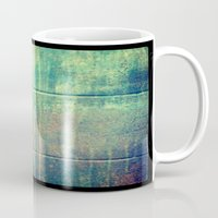 grunge Mugs featuring Grunge by Jason Michael