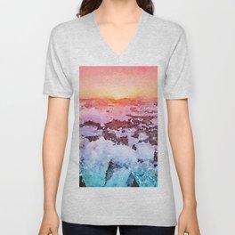 Ice Rainbow Unisex V-Neck