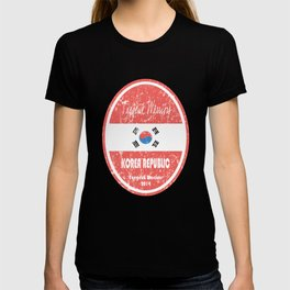 World Cup Football - Korea Republic (Distressed) T-shirt