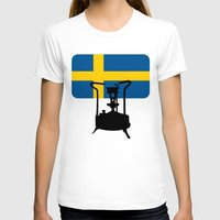 sweden T-shirts featuring Sweden flag | Pressure stove by mailboxdisco
