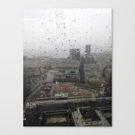 Raining in Rio Canvas Print