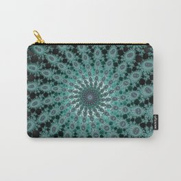 Fractal Whirlwind Carry-All Pouch