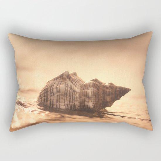 Big Shell on the sea Rectangular Pillow