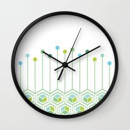 Hexa Wall Clock