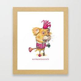 Whatchamacallit Framed Art Print