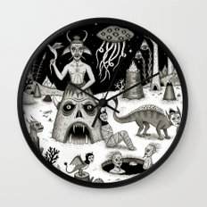 A Grim Hereafter Wall Clock